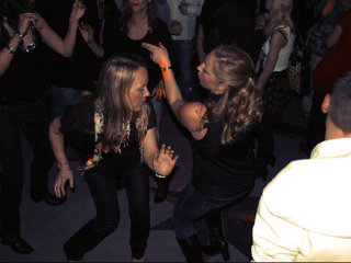 Partynacht tanzen